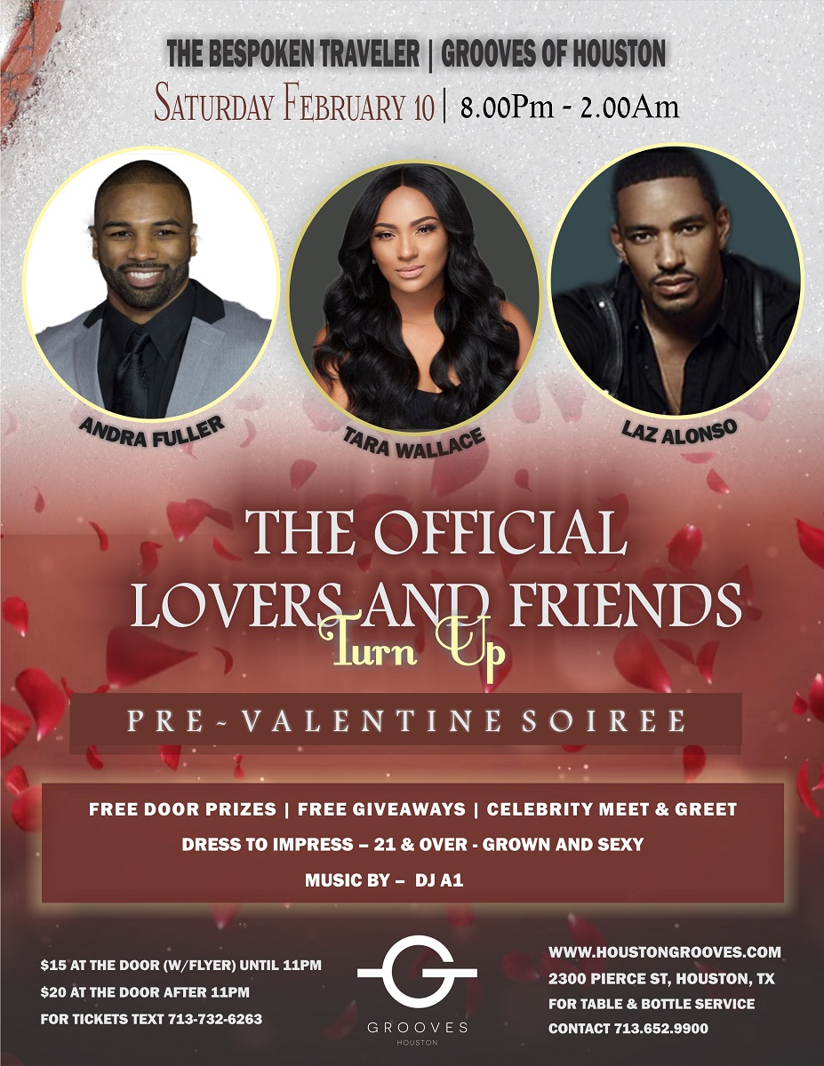 The Official Lover's and Friend's Turn Up!