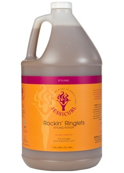 Curly Hair Style Products - Rockin' Ringlets Styling Potion from Jessicurl's line of styling products