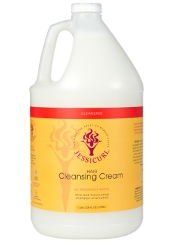 Curly Hair Style Products - Hair Cleansing Cream from Jessicurl's line of cleansing products
