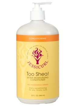 Too Shea! Extra Moisturizing Conditioner from Jessicurl's line of conditioning products