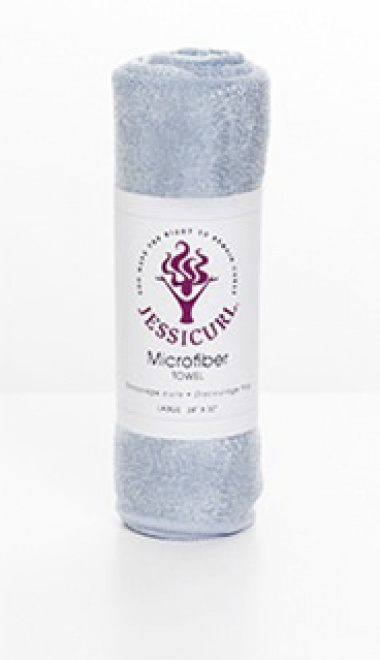 Microfiber Plunking Towel from Jessicurl's line of Curly Essentials