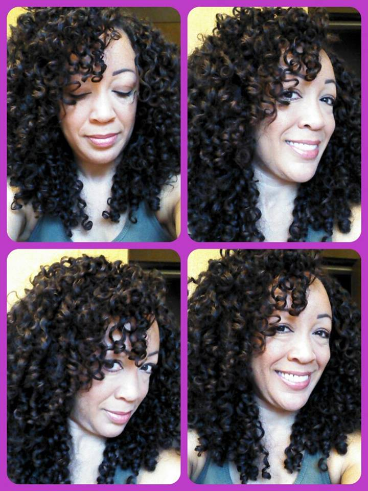 Gorgeously finished curls by Kelly Anker