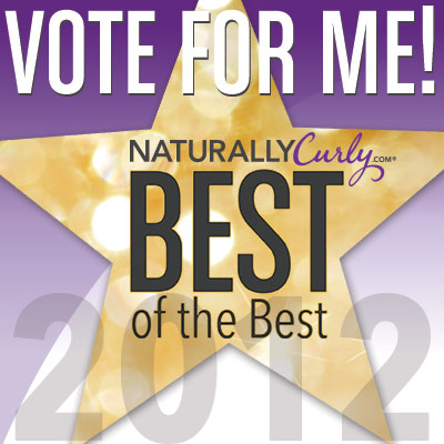 Please vote for Jessicurl in NaturallyCurly.com's 3rd Best ...  Please vote for...