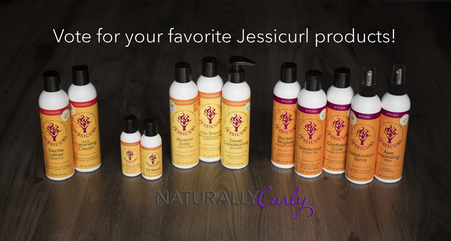 Vote for Jessicurl on NaturallyCurly.com